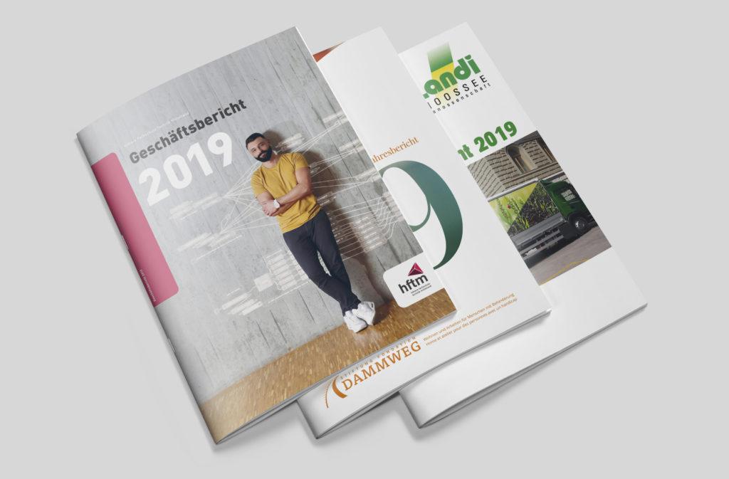 Geschäfts und Jahresberichte