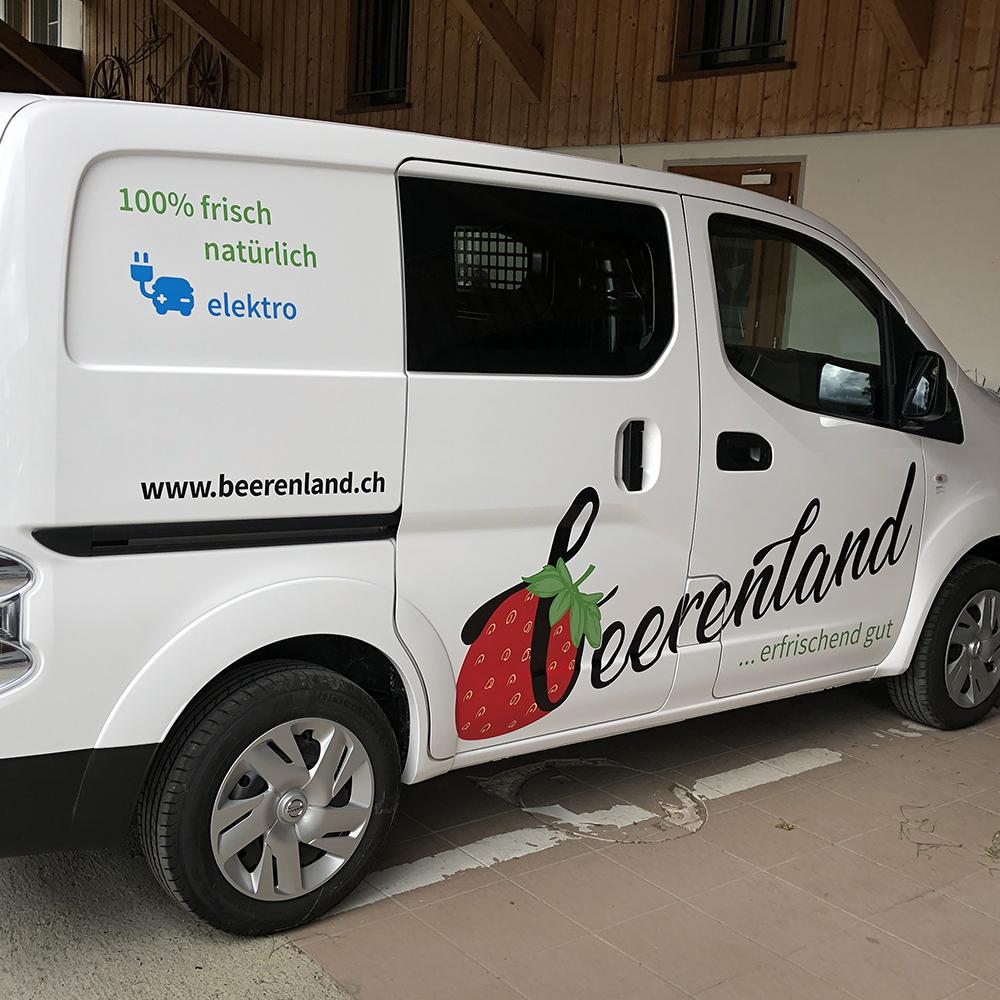 Elektrofahrzeug Beerenland AG